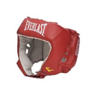 Шлем боксерский Everlast Amateur Competition PU красный