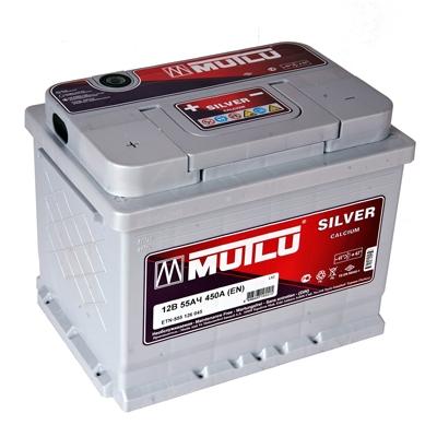 Автомобильный аккумулятор АКБ MUTLU (Мутлу) L2.55.045.B SMF 55565 55Ач П.П.