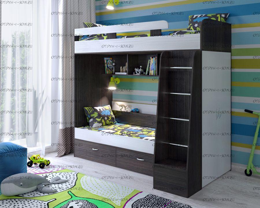 Кровать двухъярусная Юниор-6