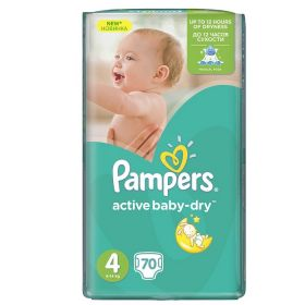 Pampers Active Baby 7-14кг, 70шт (4)