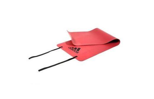Тренировочный коврик (мат) для фитнеса (оранжевый) Арт. ADMT-12234OR
