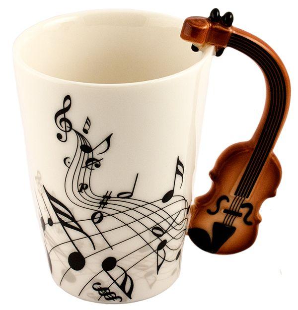 Кружка Музыкальные инструменты N 1