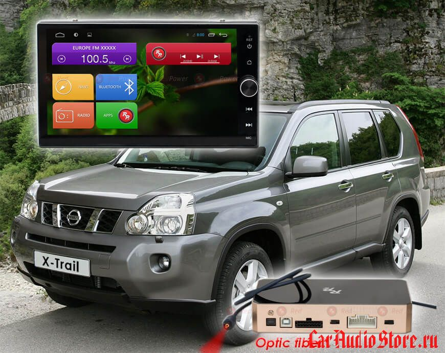 Nissan RedPower 31000 IPS DSP ANDROID 7 Универсальная 2 Din