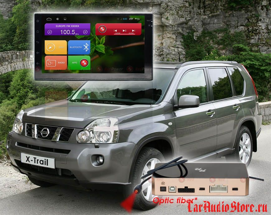 Nissan Redpower 31001 IPS DSP ANDROID 7 2din