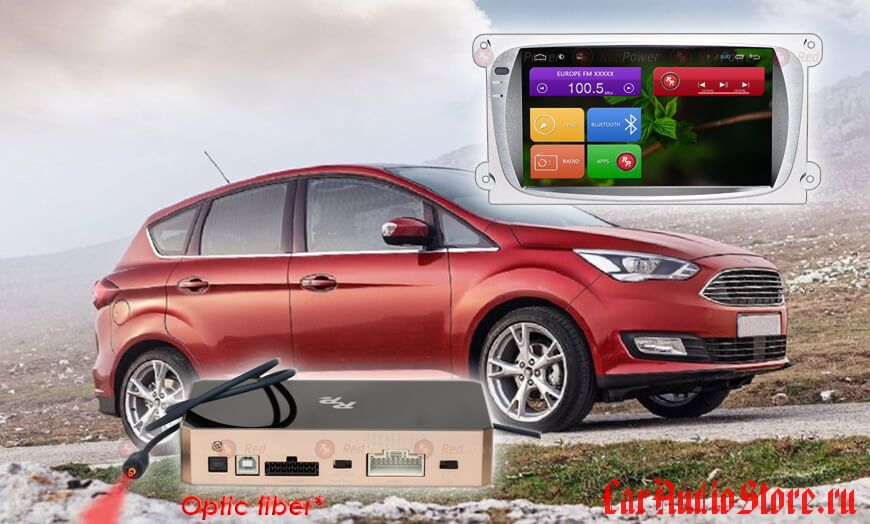 Ford Focus Redpower 31003G IPS DSP цвет серый ANDROID 7