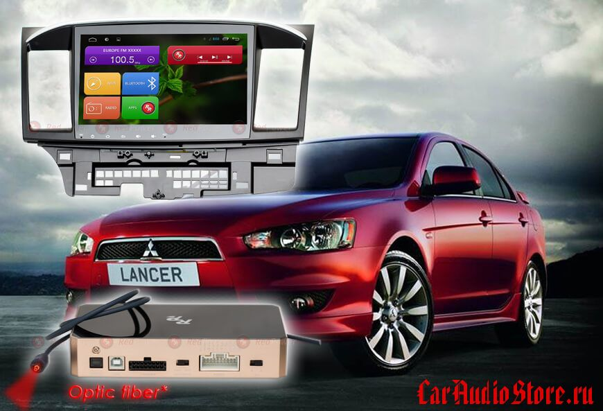 Mitsubishi Lancer Redpower 31037 IPS DSP ANDROID 7