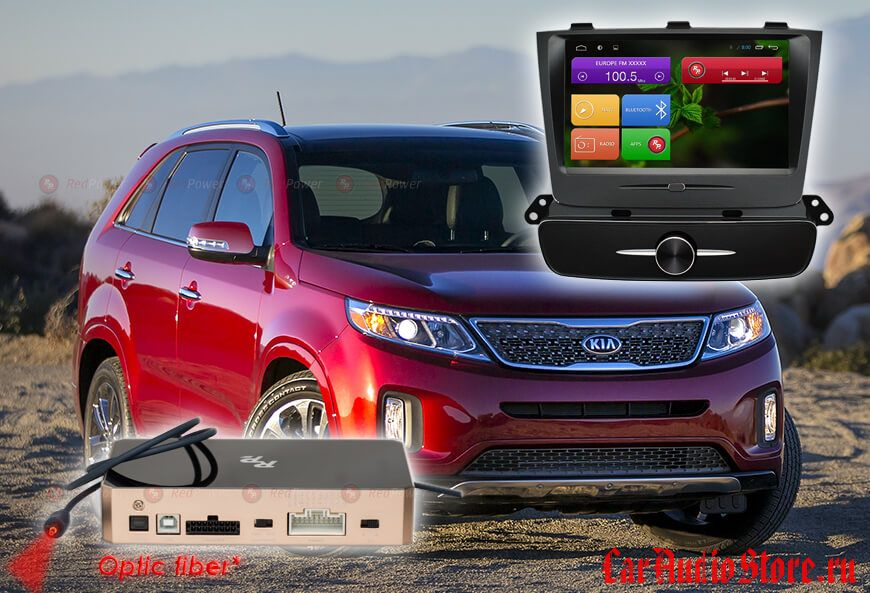 KIA Sorento R2 (топовая комплектация) RedPower 31040 IPS DSP ANDROID 7