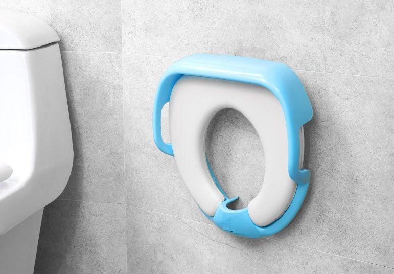 Детское мягкое сиденье для унитаза Comfy Trainer (Голубой)