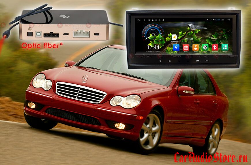 RedPower 31768 IPS DSP для Mercedes-Benz SLK кузов R171 (2004-2012)