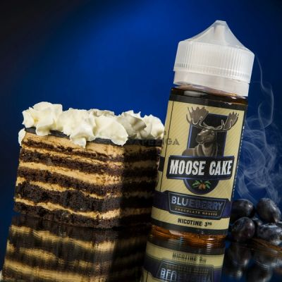 Moose Cake Blueberry