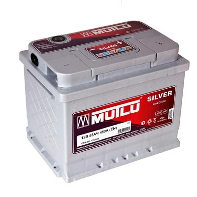 Автомобильный аккумулятор АКБ MUTLU (Мутлу) L2.55.045.A SMF 55559 55Ач О.П.