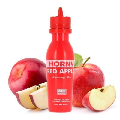 Horny  Red Apple