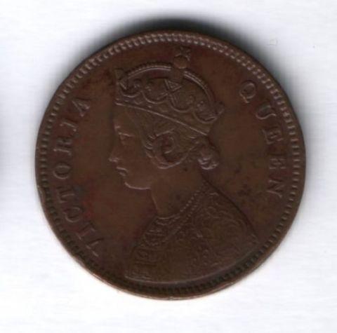 1/4 анны 1862 года Индия
