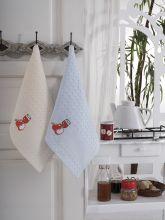 """Кухонные полотенца """"KARNA"""" FESTIVAL 45x65 - 2 шт. Арт.1089к-1"""