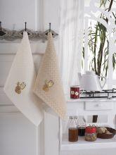 """Кухонные полотенца """"KARNA"""" FESTIVAL 45x65 - 2 шт. Арт.1089к-3"""