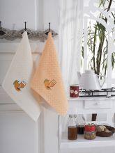 """Кухонные полотенца """"KARNA"""" FESTIVAL 45x65 - 2 шт. Арт.1089к-4"""