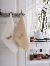 """Кухонные полотенца """"KARNA"""" FESTIVAL 45x65 - 2 шт. Арт.1089к-5"""