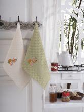 """Кухонные полотенца """"KARNA"""" FESTIVAL 45x65 - 2 шт. Арт.1089к-6"""