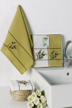 "Кухонные полотенца ""KARNA"" SILVA 40x60 - 2 шт. Арт.3032-2"