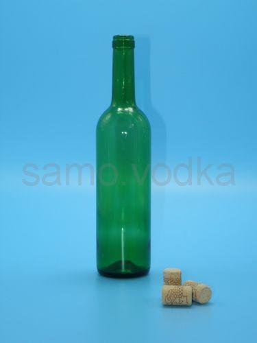 Бутылка винная 0.75литра