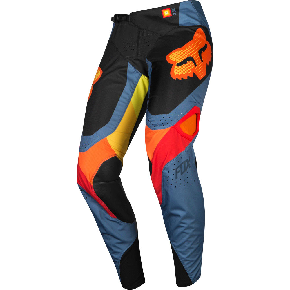 Fox - 2019 360 Murc Blue Steel штаны, серые