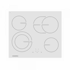 Электрическая панель MAUNFELD MVCE59.4HL.1SM1DZT-WH, белое стекло