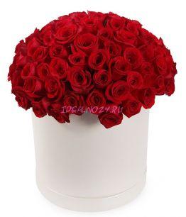 Искусство жить в шляпной коробке 101 роза