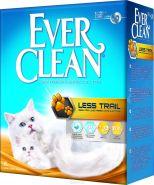 EVER CLEAN Less Trail Комкующийся наполнитель для котят и длинношерстных кошек (6 л)
