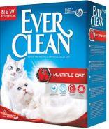 EVER CLEAN Multiple Cat Комкующийся наполнитель для нескольких кошек (10 л)