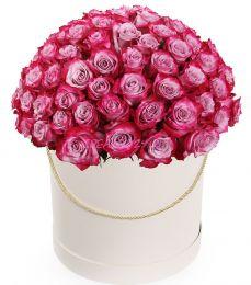 50 оттенков розового в шляпной коробке
