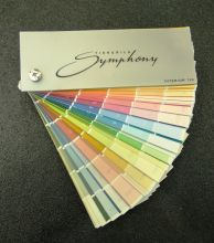 Tikkurila Symphony Interior 720 (mini) - каталог цветов