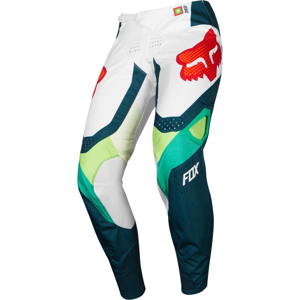 Fox - 2019 360 Murc Green штаны, зеленые