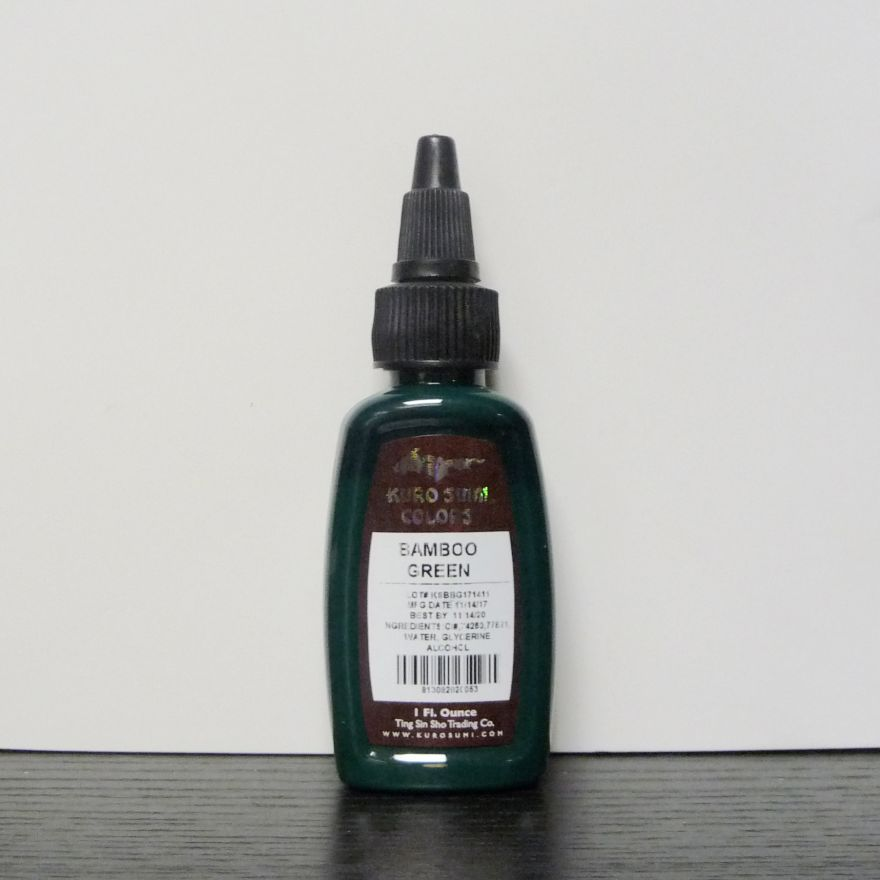 SALE Kuro Sumi Bamboo Green 15ml