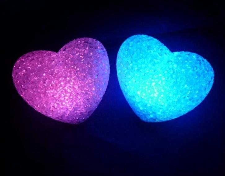 Светящееся настольное Сердце