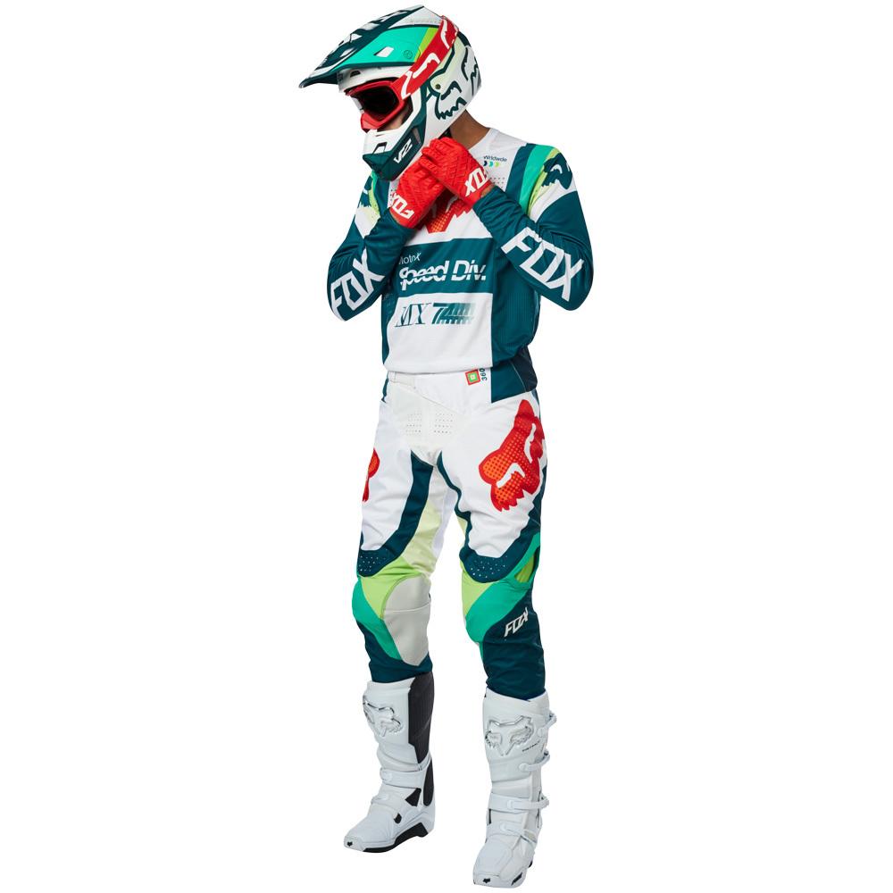 Fox - 2019 360 Murc Green комплект джерси и штаны, зеленые