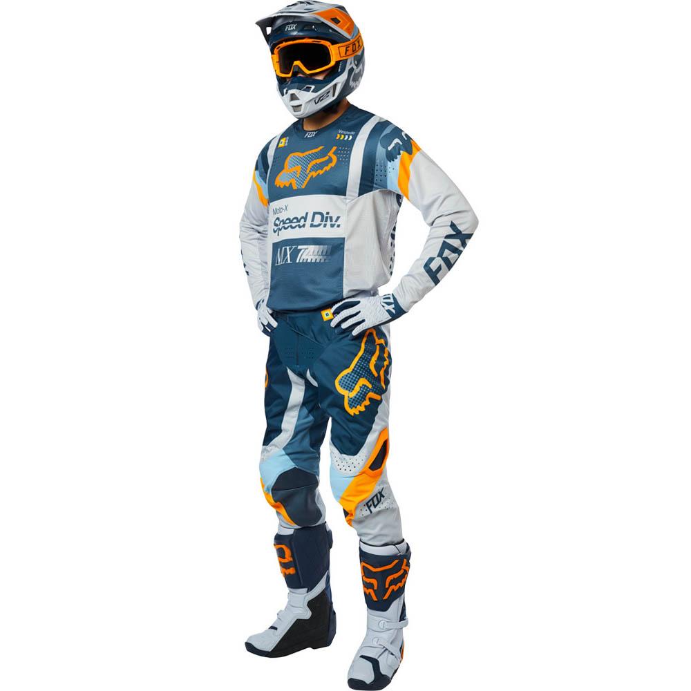 Fox - 2019 360 Murc Lt Grey комплект джерси и штаны, светло-серые