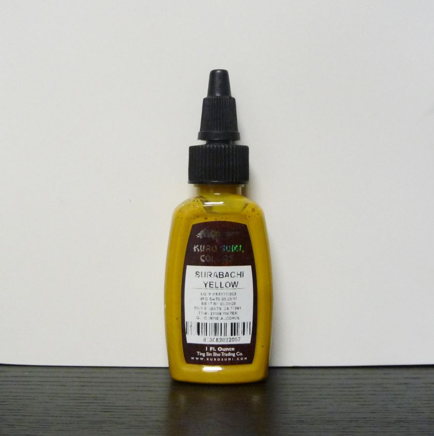 SALE Kuro Sumi Surabachi yellow 30ml