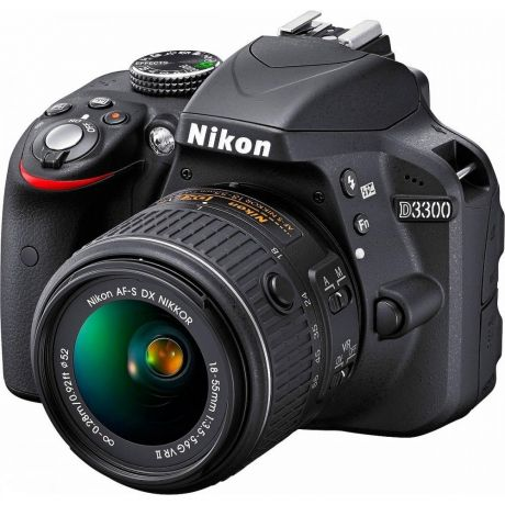 Зеркальный фотоаппарат Nikon D3300 Kit 18-55 mm VR