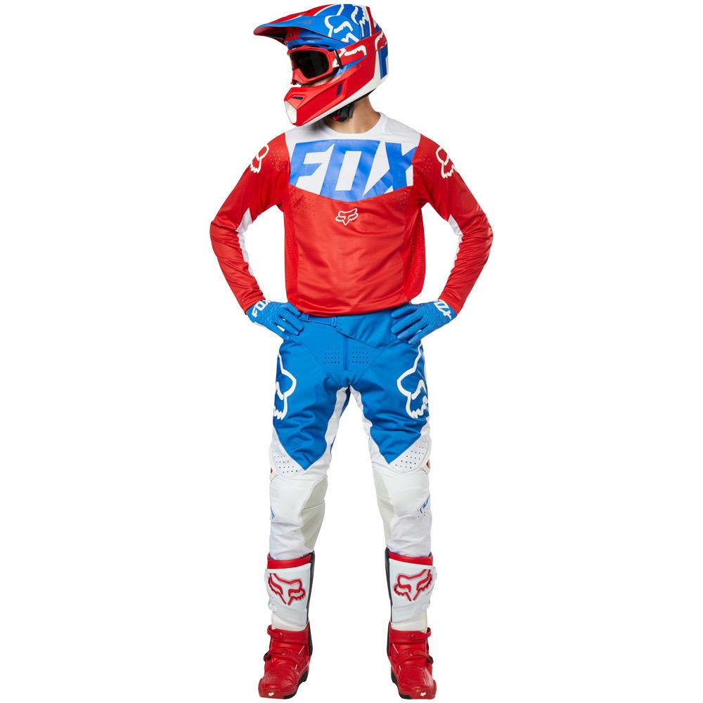 Fox - 2019 360 Kila Blue/Red комплект джерси и штаны, сине-красный