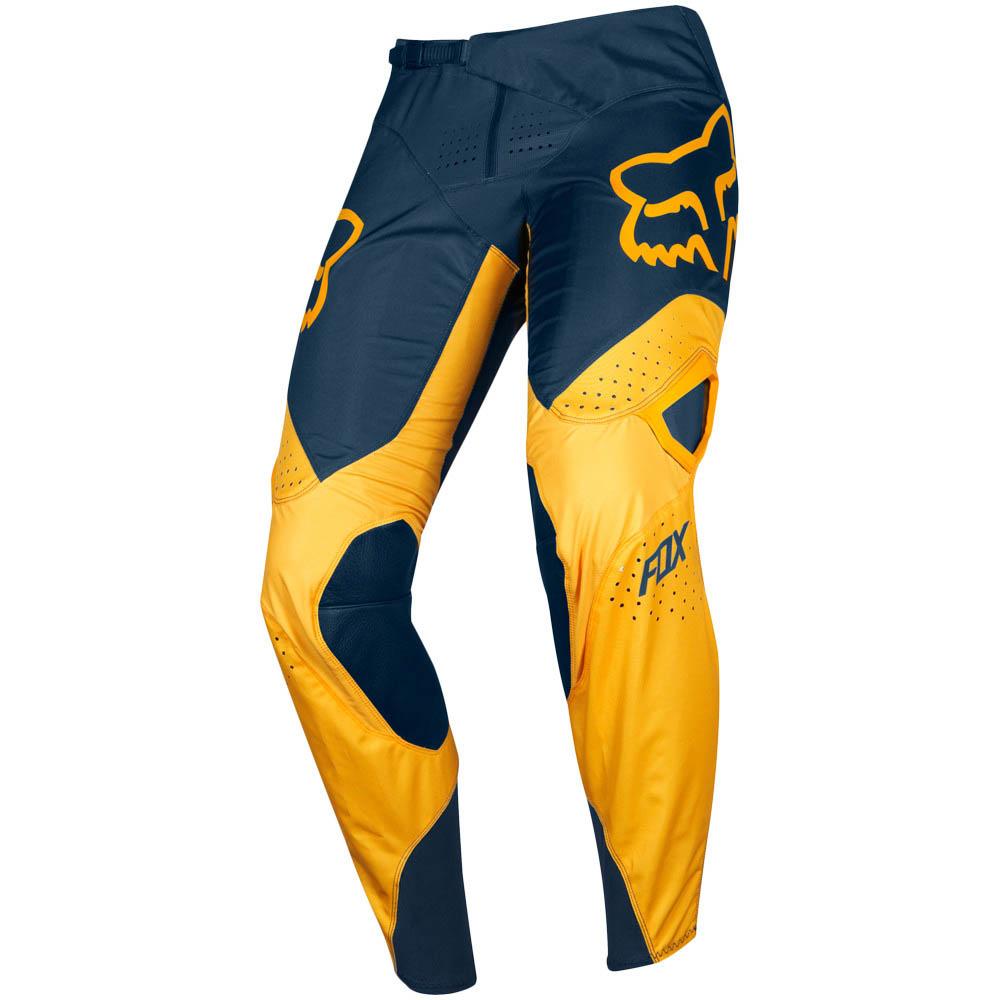 Fox 360 Kila Navy/Yellow штаны, сине-желтые