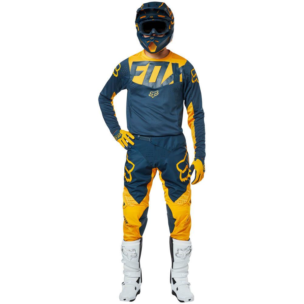 Fox - 2019 360 Kila Navy/Yellow комплект джерси и штаны, сине-желтый
