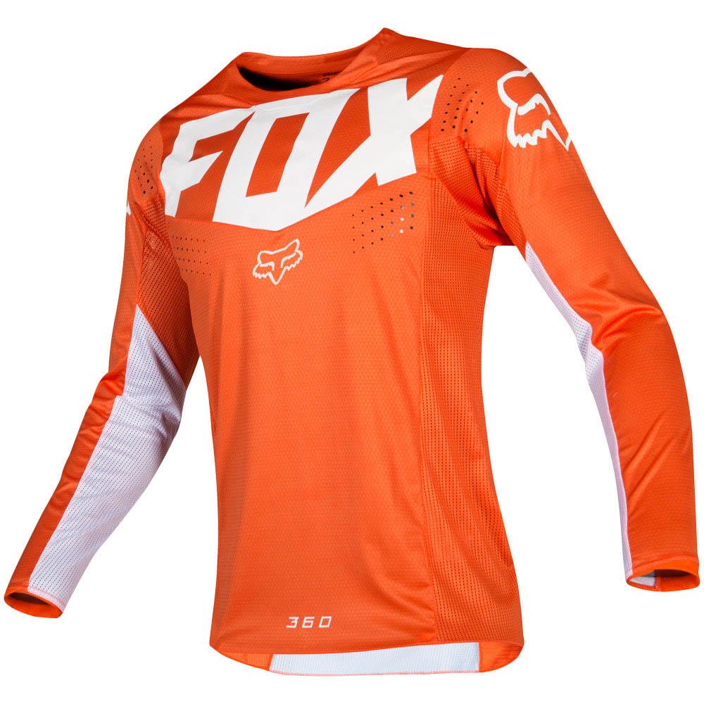 Fox - 2019 360 Kila Orange джерси, оранжевое