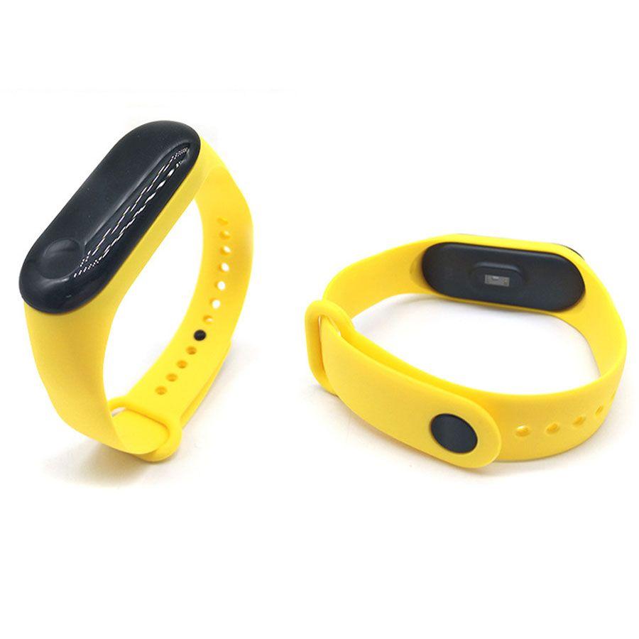 Сменный ремешок для фитнес-браслета  Xiaomi Mi Band 3 (Желтый)