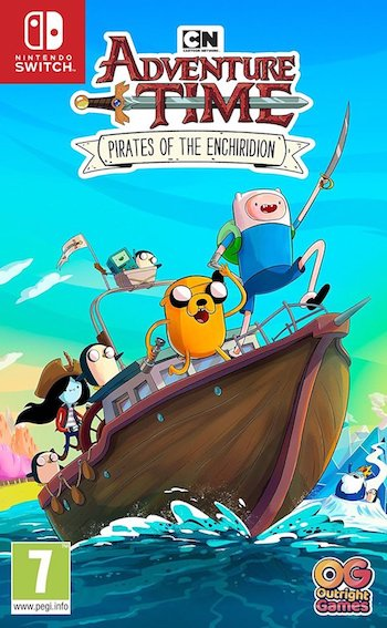 Игра Adventure Time (Nintendo Switch)