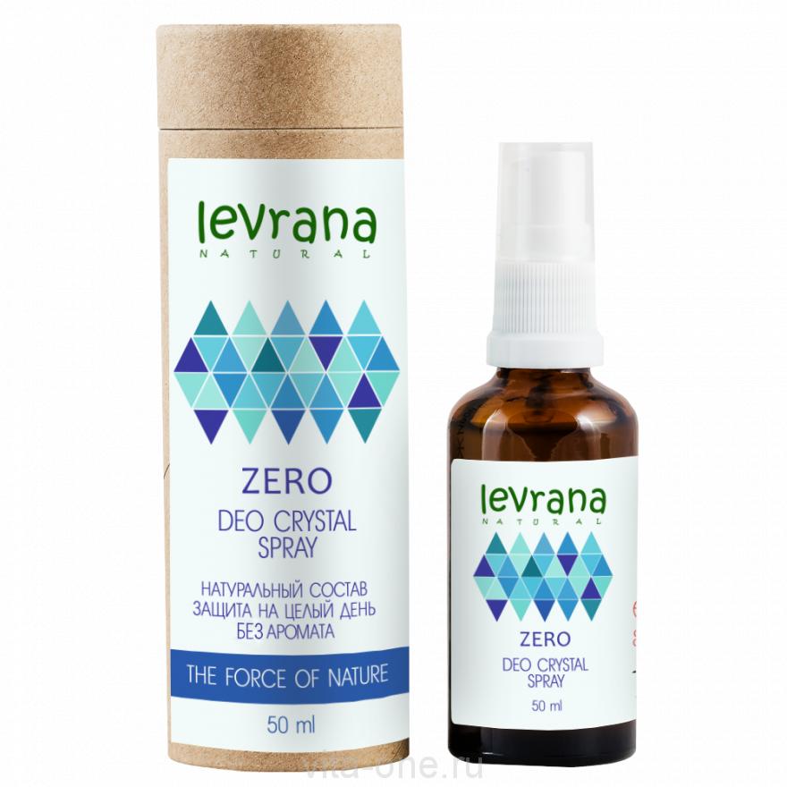 Дезодорант ZERO без аромата Levrana (Леврана) 50 мл
