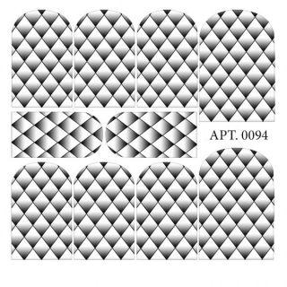 Слайдер-дизайн для ногтей № 0094