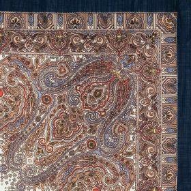 Платок павловопосадский 89*89 см Мозаика [15]