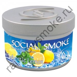 Social Smoke 1 кг - Arсtic Lemon (Арктический лимон)