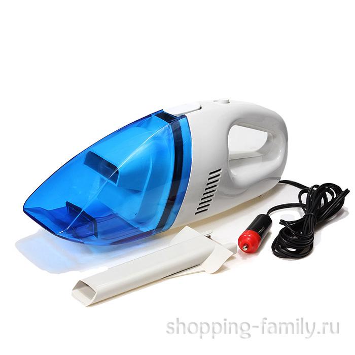 Автомобильный пылесос от прикуривателя High-Power Vacuum Cleaner Portable