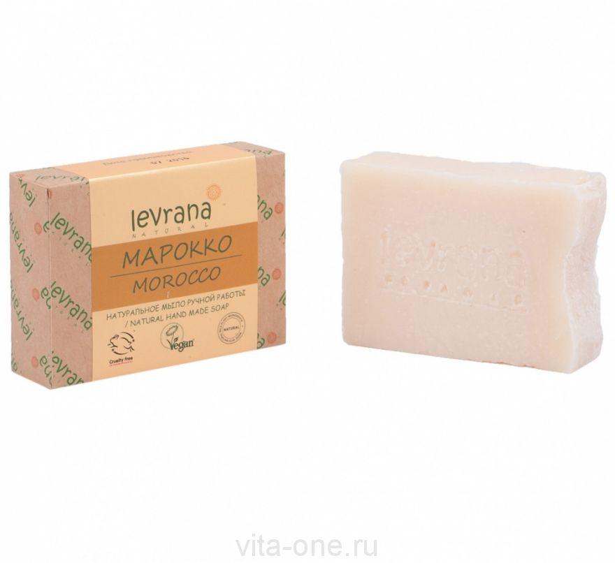 Натуральное мыло ручной работы Марокко Levrana (Леврана) 100 г